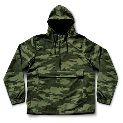 Hooded Camo Anorak