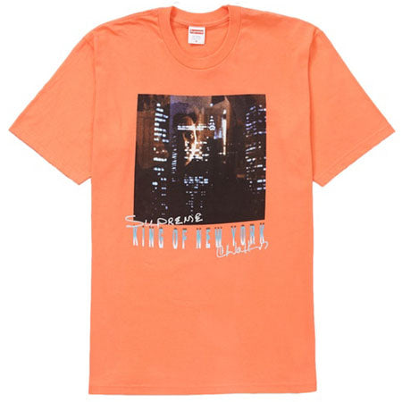 Supreme King of New York Tee- Neon Orange