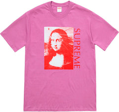 Supreme Mona Lisa Tee- Light Purple