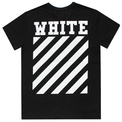 OFF WHITE Classic Strip Tee