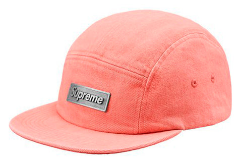 Metal Plate Camp Cap- Pink