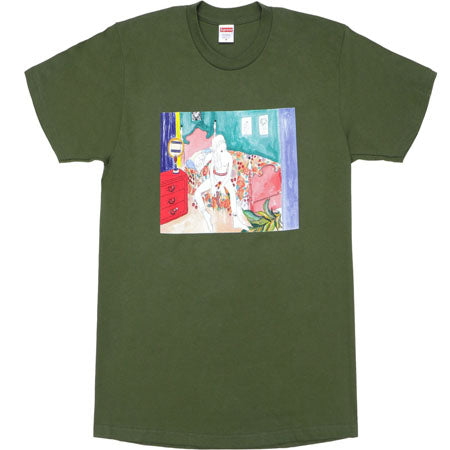 Supreme Bedroom Tee- Olive