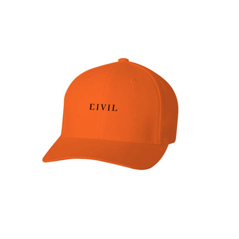 CIVIL CORE STRAPBACK -Orange