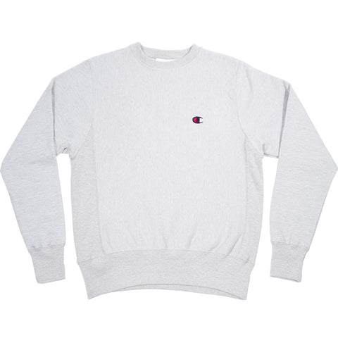 Champion Fleece Pullover- Oxford Grey
