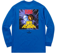 Supreme UNDERCOVER/Public Enemy Counterattack L/S Tee- Royal