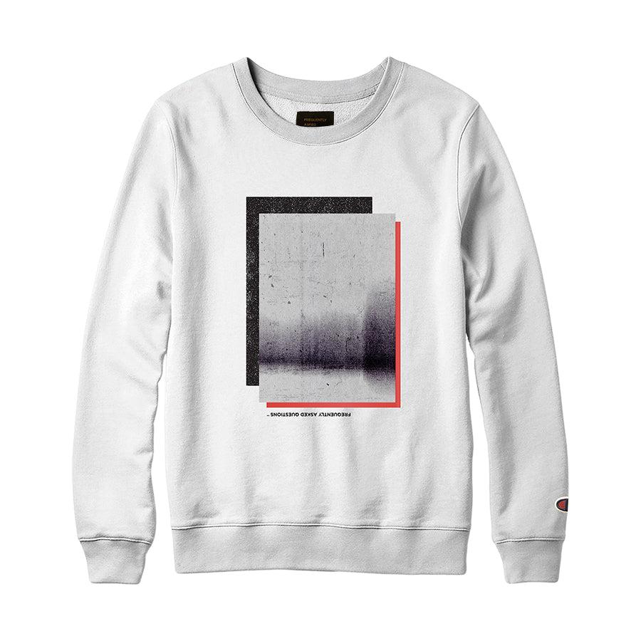 Photocopy Sweatshirt-White