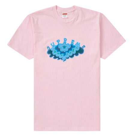 Supreme Cloud Tee- Light Pink