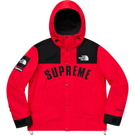 ea8bef336c3 Supreme The North Face Arc Logo Mountain Parka- Red