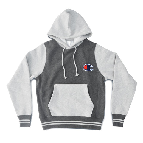 Champion REVERSE WEAVE COLORBLOCK Pocket Logo