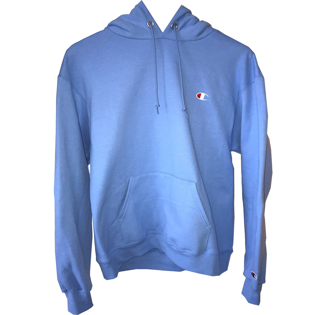 Champion Eco Stacked Hoodie- Sky