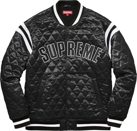 Supreme® Quilted Varsity Jacket