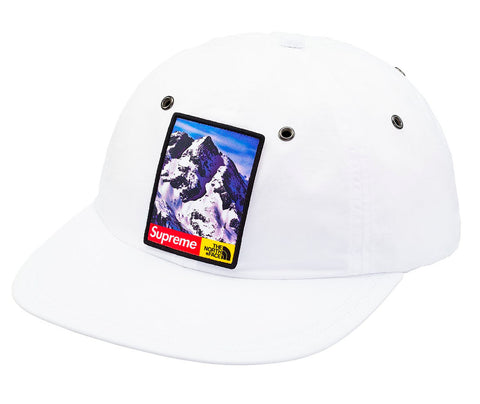 Supreme The North Face Mountain 6-Panel Hat- White