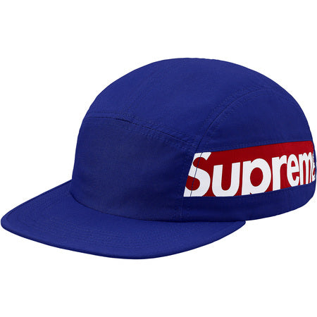4a2598347cc Supreme Side Panel Camp Cap- Royal