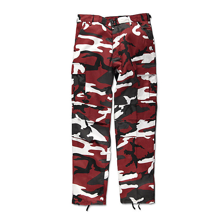 Rothco BDU Tactical Red Camo Cargo Pants