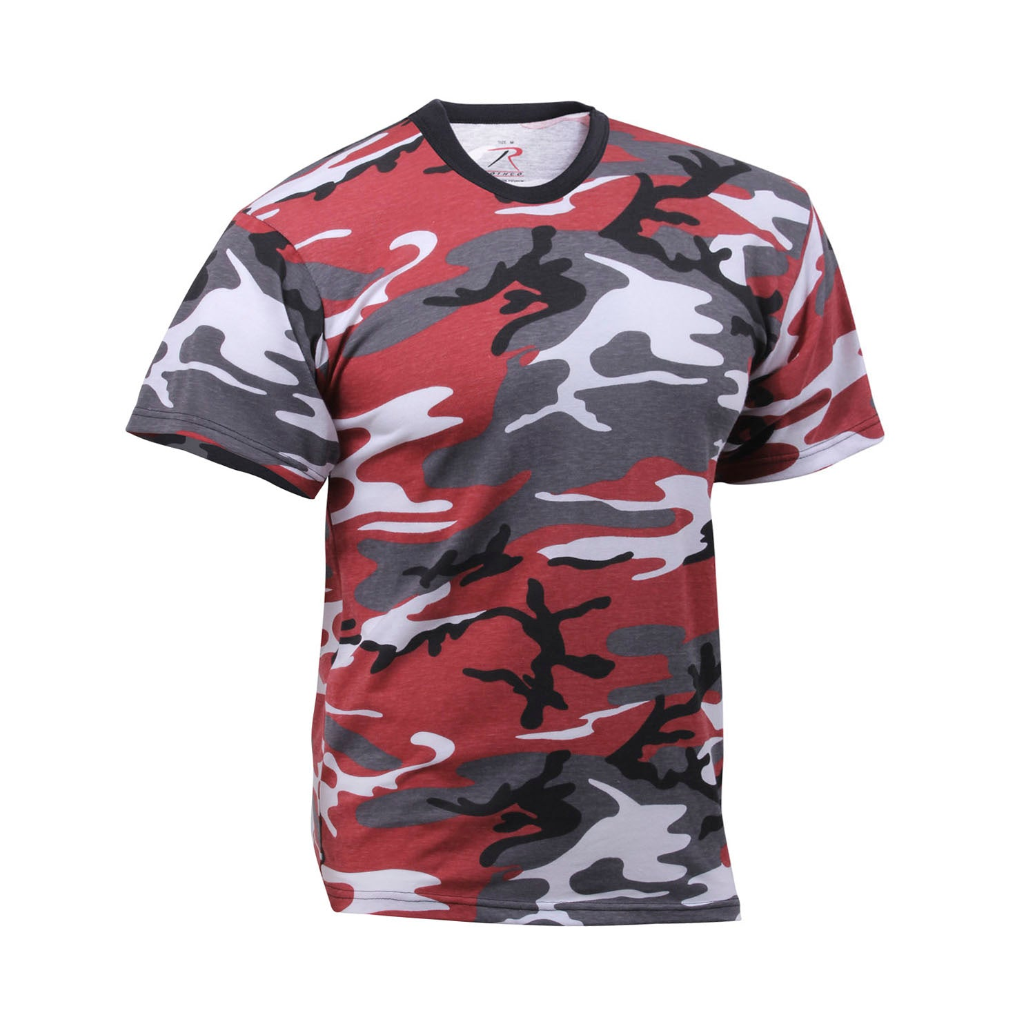 68a12389436 Camouflage T-Shirts Many Colors Black And Red Camouflage Shirts: Streetwear  Official