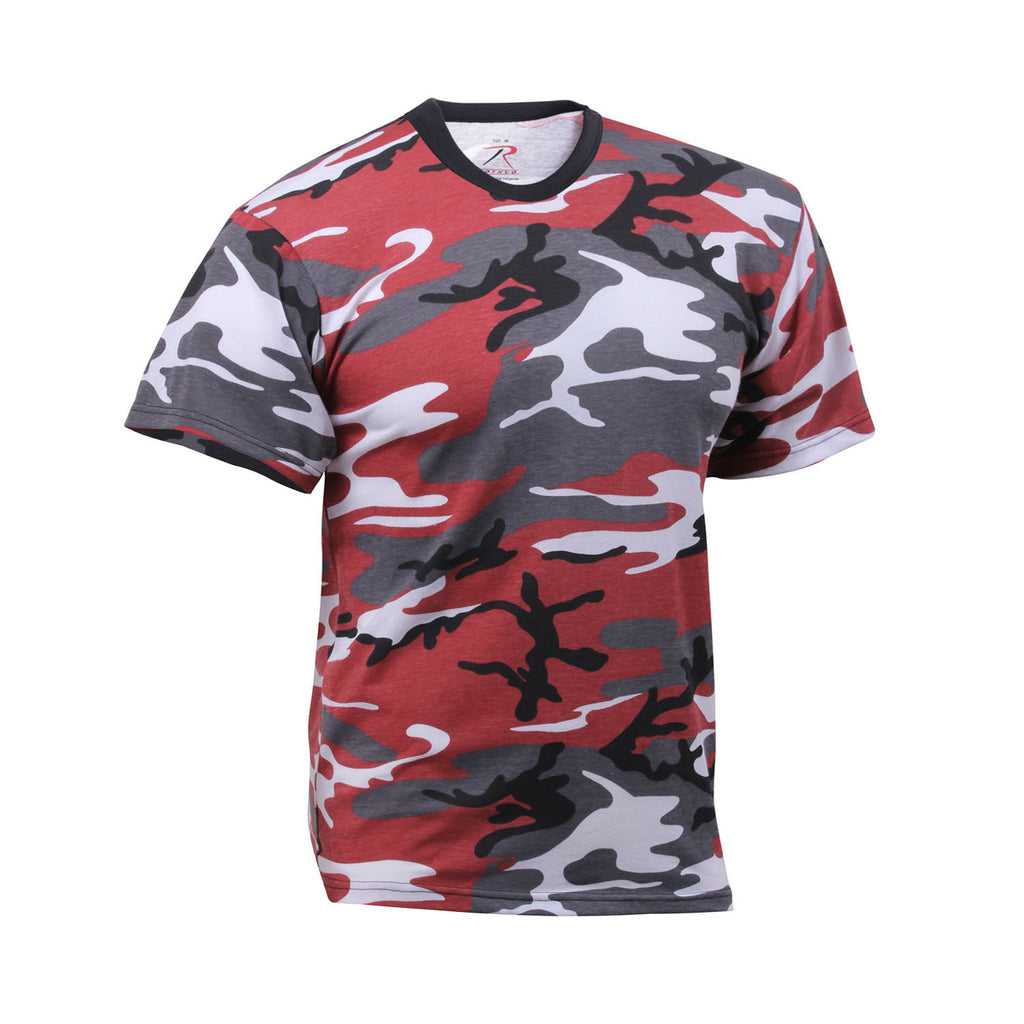 a2d964ea Rothco - Red Camo T-Shirt – Streetwear Official