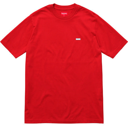 Supreme Reflective Small Box Tee- Red