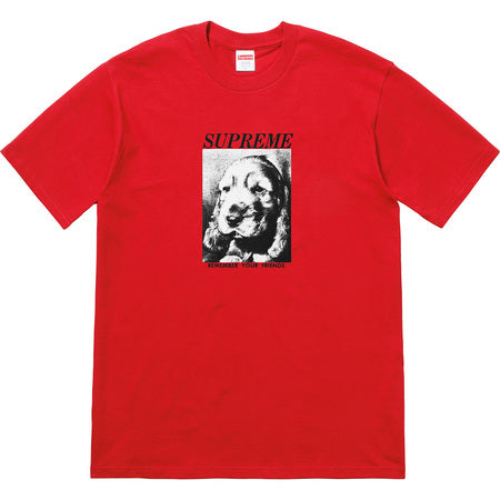 Remember Tee- Red