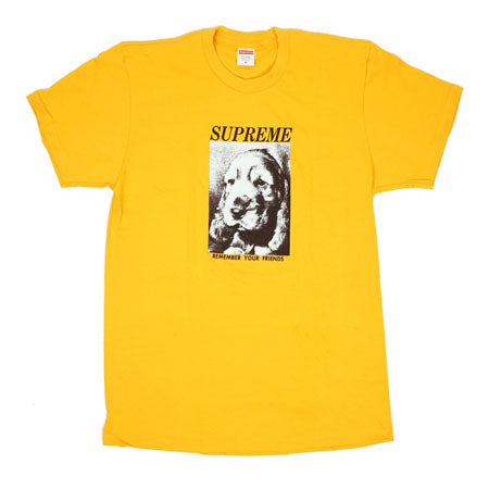 Supreme Remember Tee- Bright Orange