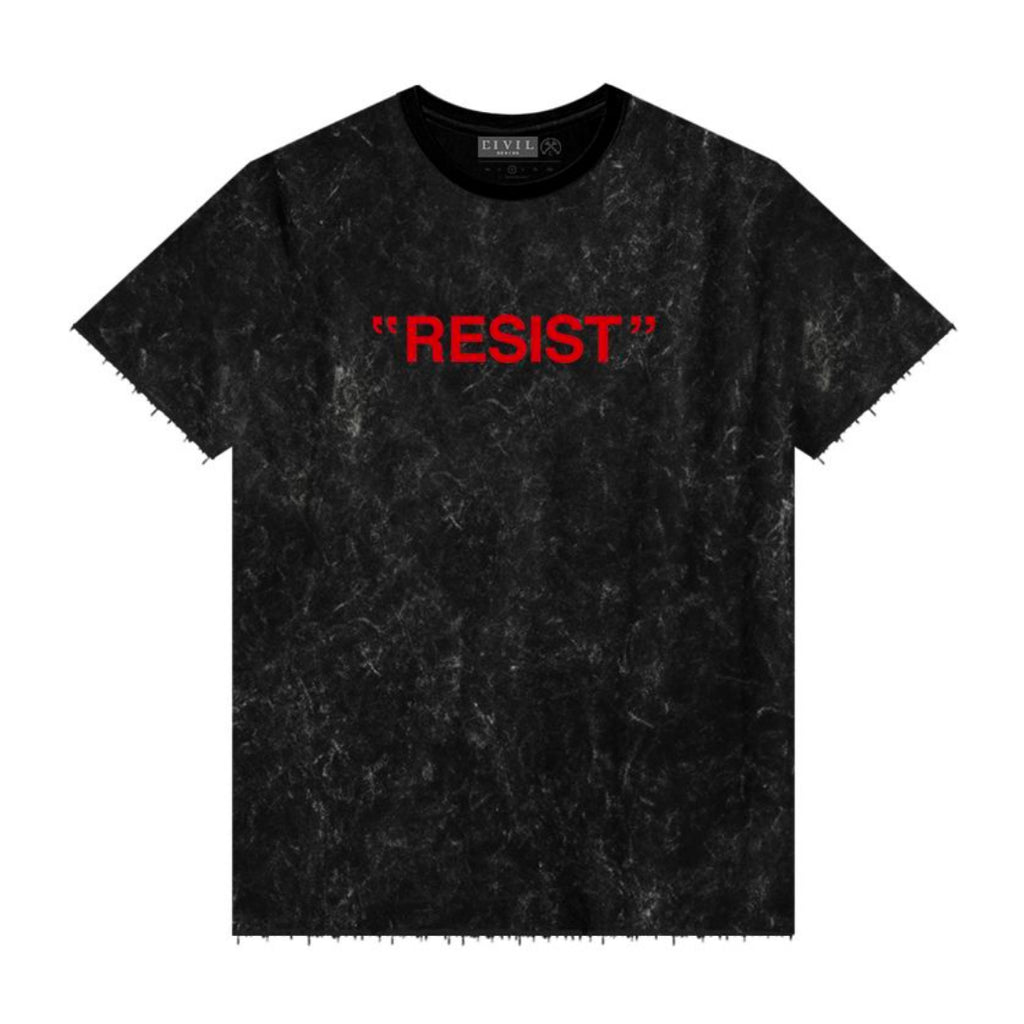 REVOLT WASTED OVERSIZED TEE