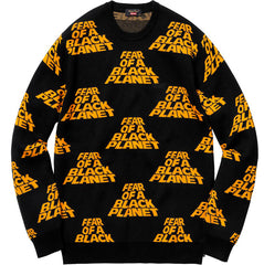 Supreme UNDERCOVER/Public Enemy Sweater- Black