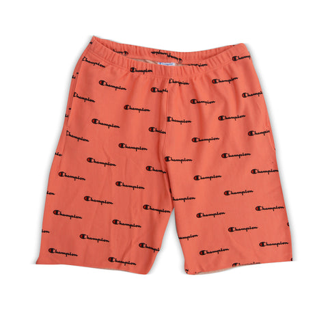 Champion Men's Reverse Weave French Terry Shorts RIPE PAPAYA RED