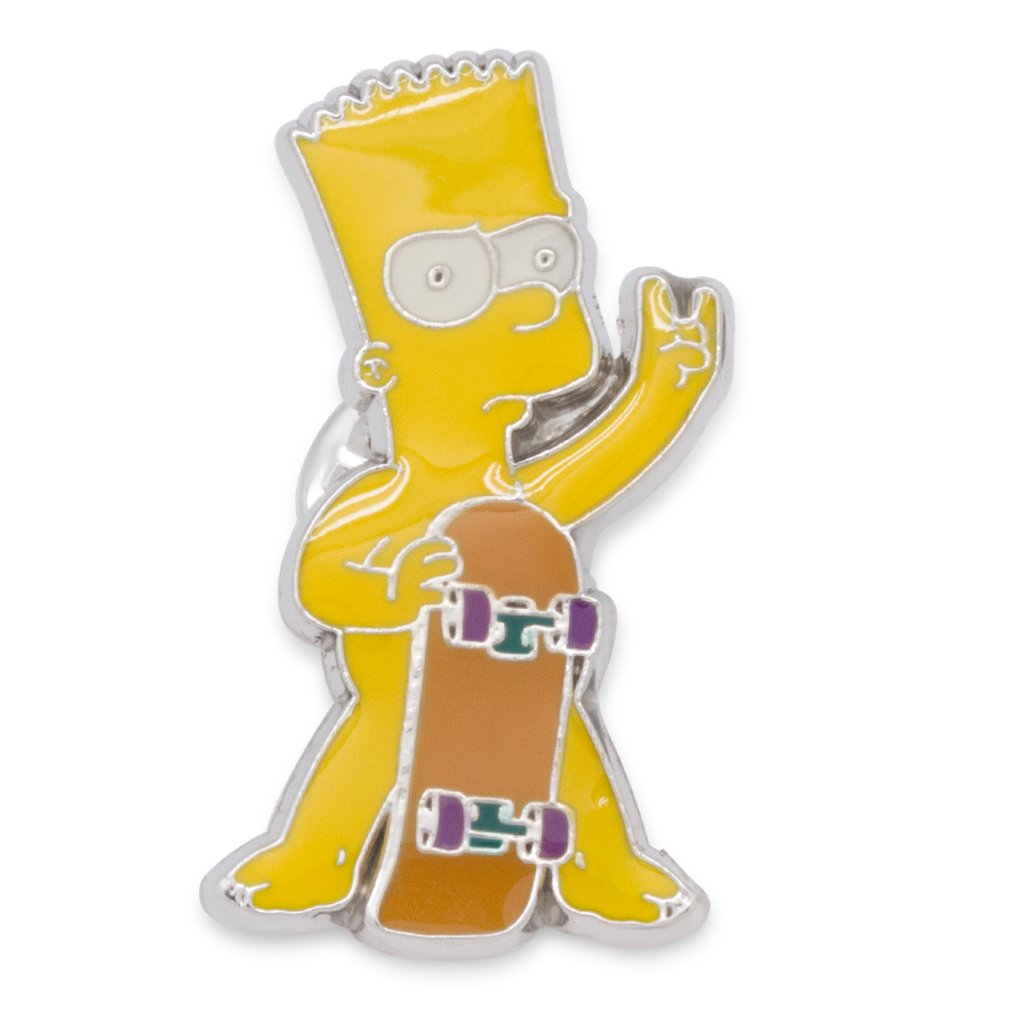Simpsons x King Ice - The Birthday Suit Bart Enamel Pin