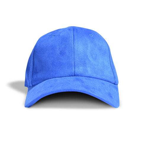 Royal Faux Suede Dad Cap