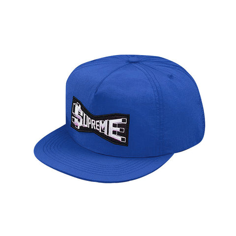 Supreme Skew Nylon 5-Panel Royal