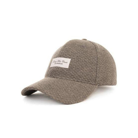 Sweater Dad Cap Charcoal Grey