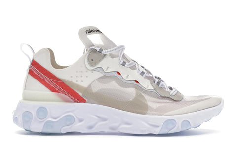 Nike React Element 87 Sail- Light Bone
