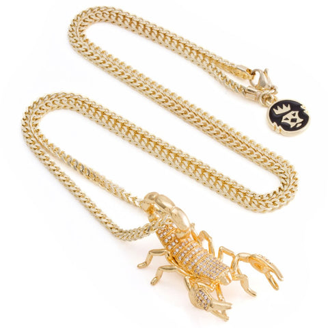 The 3D Scorpion King Necklace