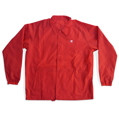 Champion Life™ Men's USA Coaches Jacket West Breaker Edition Scarlet