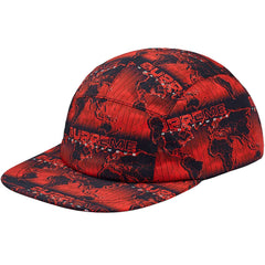 Supreme World Famous Taped Seam Camp Cap -Red