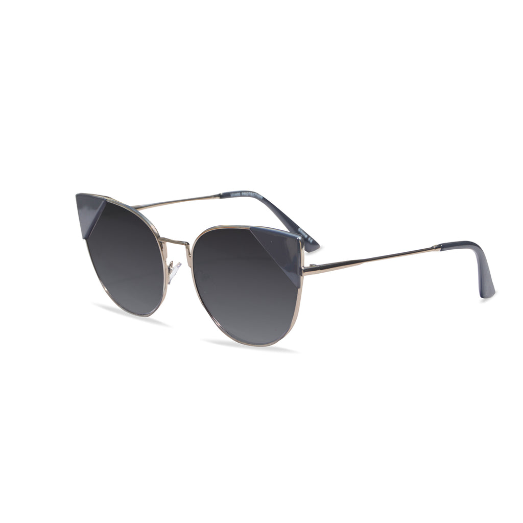 Corner Sunglasses (Grey/Silver)
