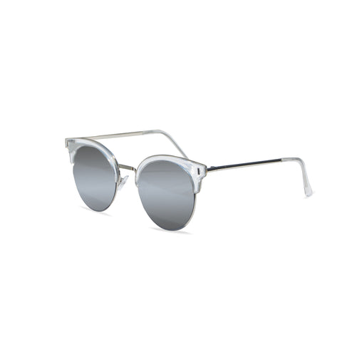 'Bad Gurl' Sunglasses (Clear)