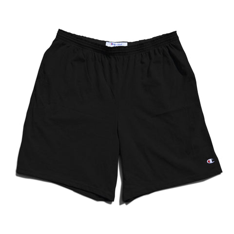 Champion Cotton Jersey Shorts -Black