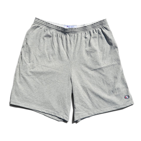 Champion Cotton Jersey Shorts -Heather Grey