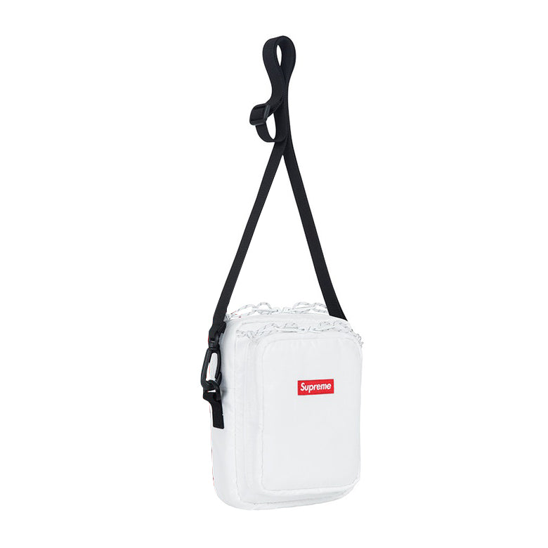 SUPREME Shoulder bag -white FW17