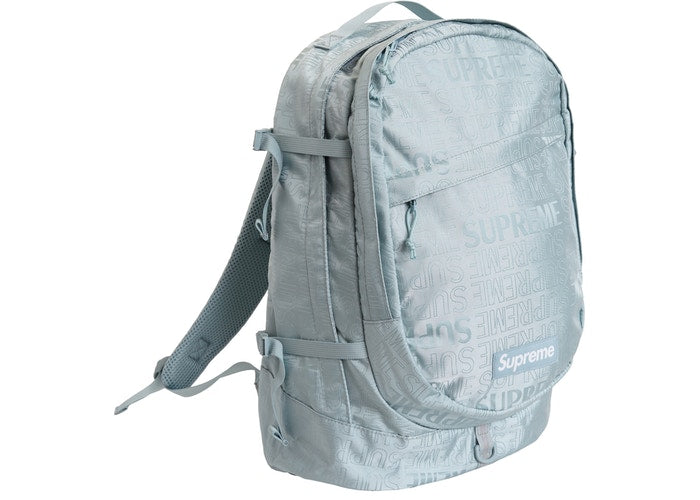 best loved f81e0 0c0cb Supreme Backpack (SS19)- Light Blue ...