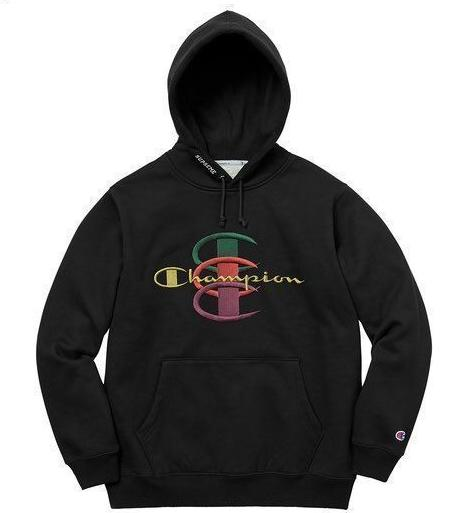 Supreme Champion Stacked Hoodie