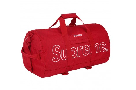 Supreme Duffle Bag- Red