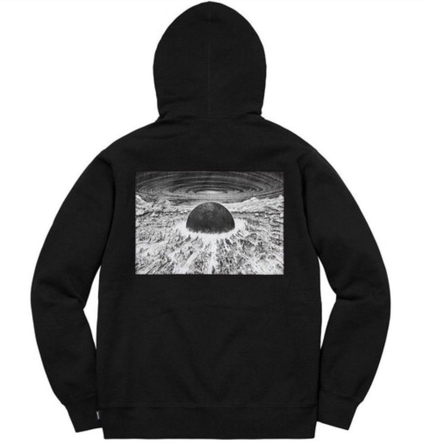 Supreme Akira Patch hooded sweatshirt