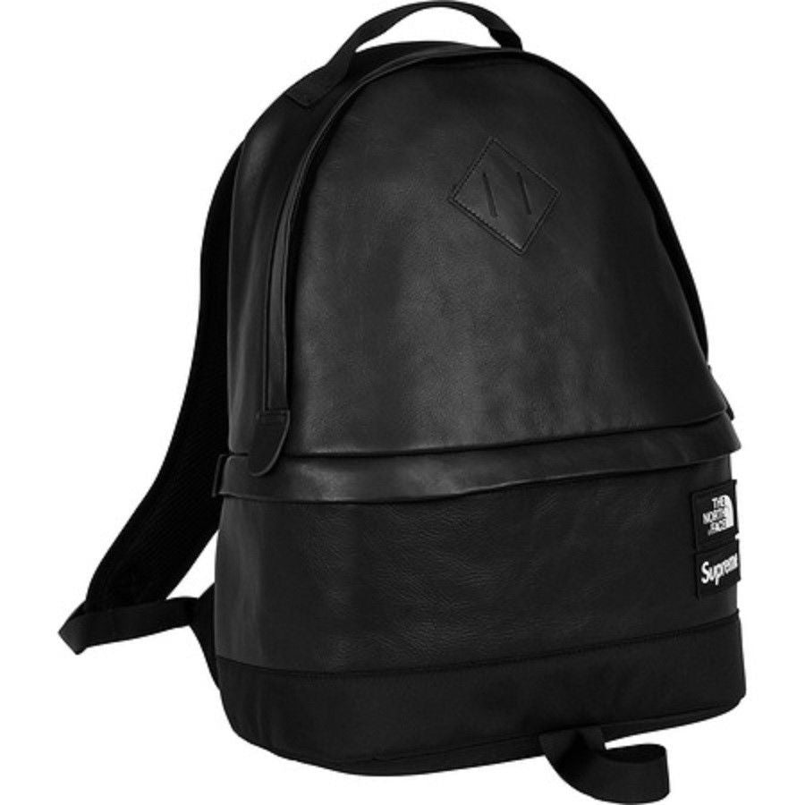 Supreme North Face Leather backpack
