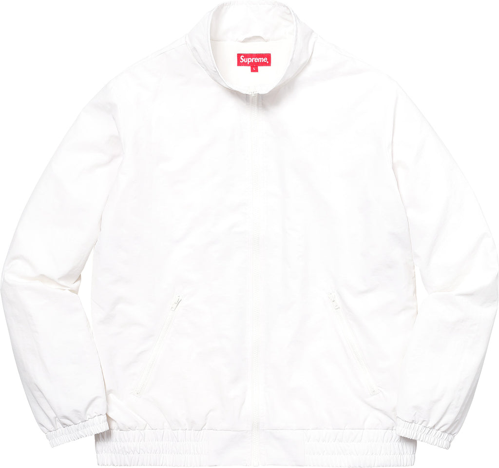 SUPREME Arc Track Jacket -white