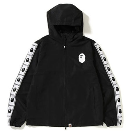 BAPE SUMMER 2018 WINDBREAKER HOODIE- BLACK
