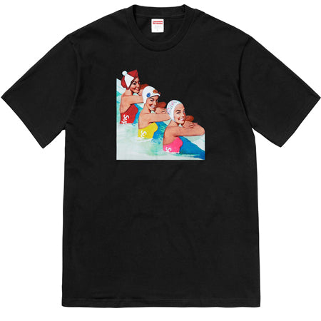 Supreme Swimmers Tee- Black