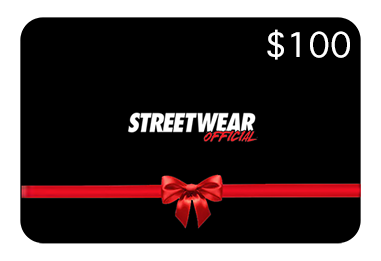 Streetwear Official Gift Card - $100.00