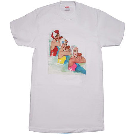 Supreme Swimmers Tee- White