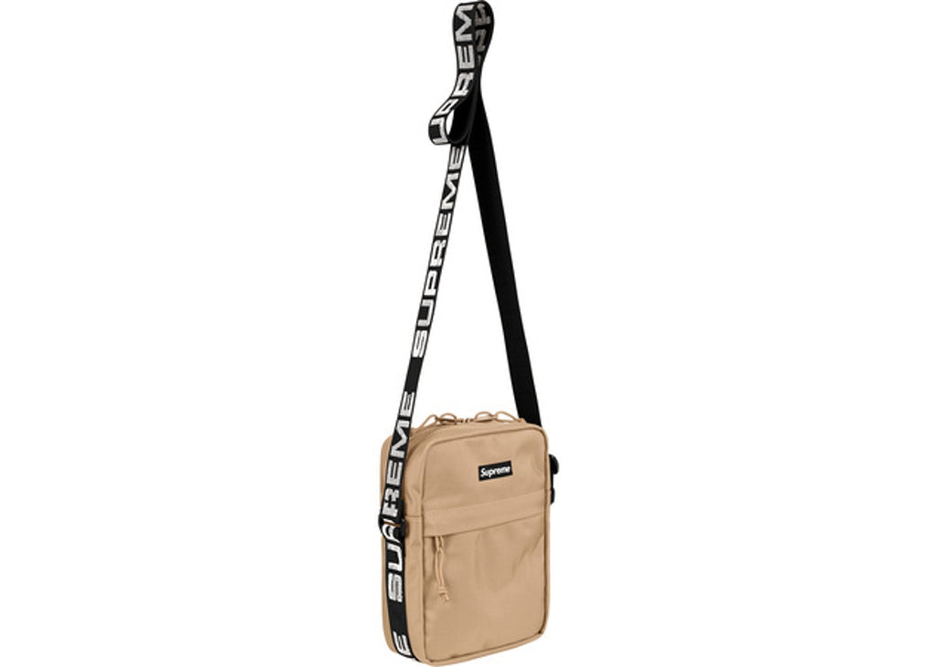 Supreme Shoulder Bag (SS18)- Tan